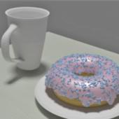 Food Donuts With Sprinkles
