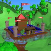 Cartoon Fortress Castle