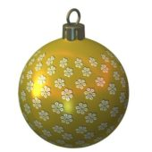 Glass Ball Christmas Decoration