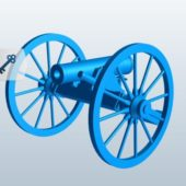 Pounder Howitzer Weapon