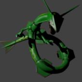 Rayquaza Pokemon Character