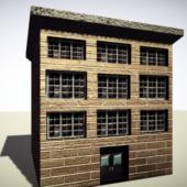 Simple Brick Buiding