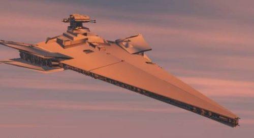 Star Wars Victory Spaceship