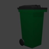 City Trash Can