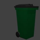 City Trash Can