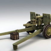 105mm Howitzer Military Artillery