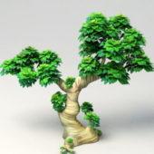 Cartoon Garden Tree