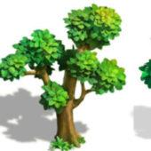 Cartoon Big Tree