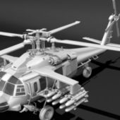 Western Attack Helicopter