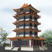 Ancient Style Chinese Pagoda