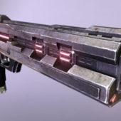 Fantasy Energy Pistol Gun