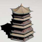 Chinese Brick Pagoda