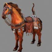 Medieval Old War Horse