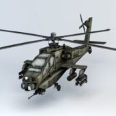 Helicopter Apache Attack