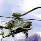 Military Apache Helicopter