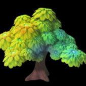 Garden Cartoon Tree