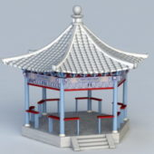 Garden Pavilion Traditional Chinese Building