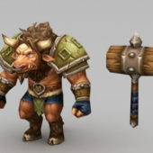 Character Tauren Warrior