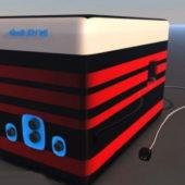 Electric Desktop Speaker