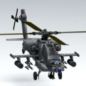 Apache Helicopter Ah64 Model