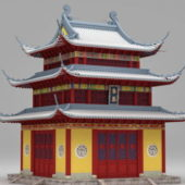Chinese Temple Ancient Building