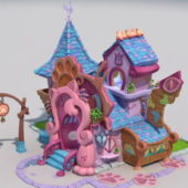 Cartoon Pet House Design