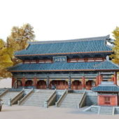 Chinese Ancient Emple Design