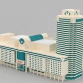 Commercial Complex Architecture Building
