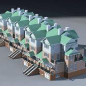 Modern Architecture Townhouse Design