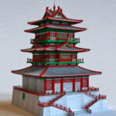Chinese Style Pagoda Architecture