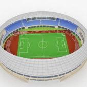 Round Soccer Stadium
