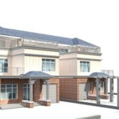 Townhouse Building With Garage