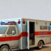 Hospital Ambulance Vehicle