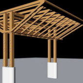 Outdoor Wooden Pergola Design