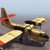 Canadair Cl-215 Firefighting Aircraft