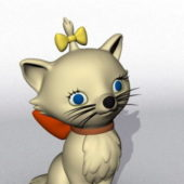 Cute Character Cartoon Cat V1