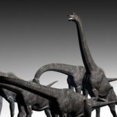 Brachiosaurus Dinosaur Character