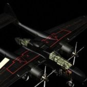 Aircraft P-61 Black Widow Night Fighter