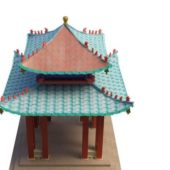 Chinese Ancient Garden Pavilion