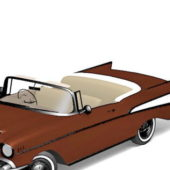 Beauty Chevrolet Classic Convertible Car