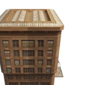 City Old Apartment Building V1