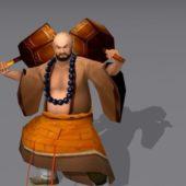 Shaolin Warrior Monk Character