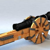 Vintage Pirate Cannon V1