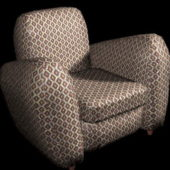 Home Furniture Fabric Club Chair