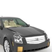Black Cadillac Cts Car