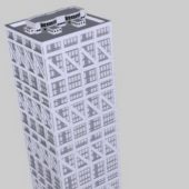 High Rise Glass Office Building