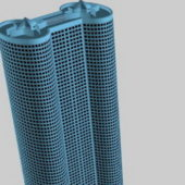 Cylinder City Building Architecture
