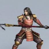 Japanese Samurai Character
