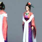 Ancient Chinese Noble Lady Character