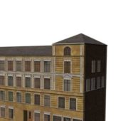 Old Brick Apartment Building